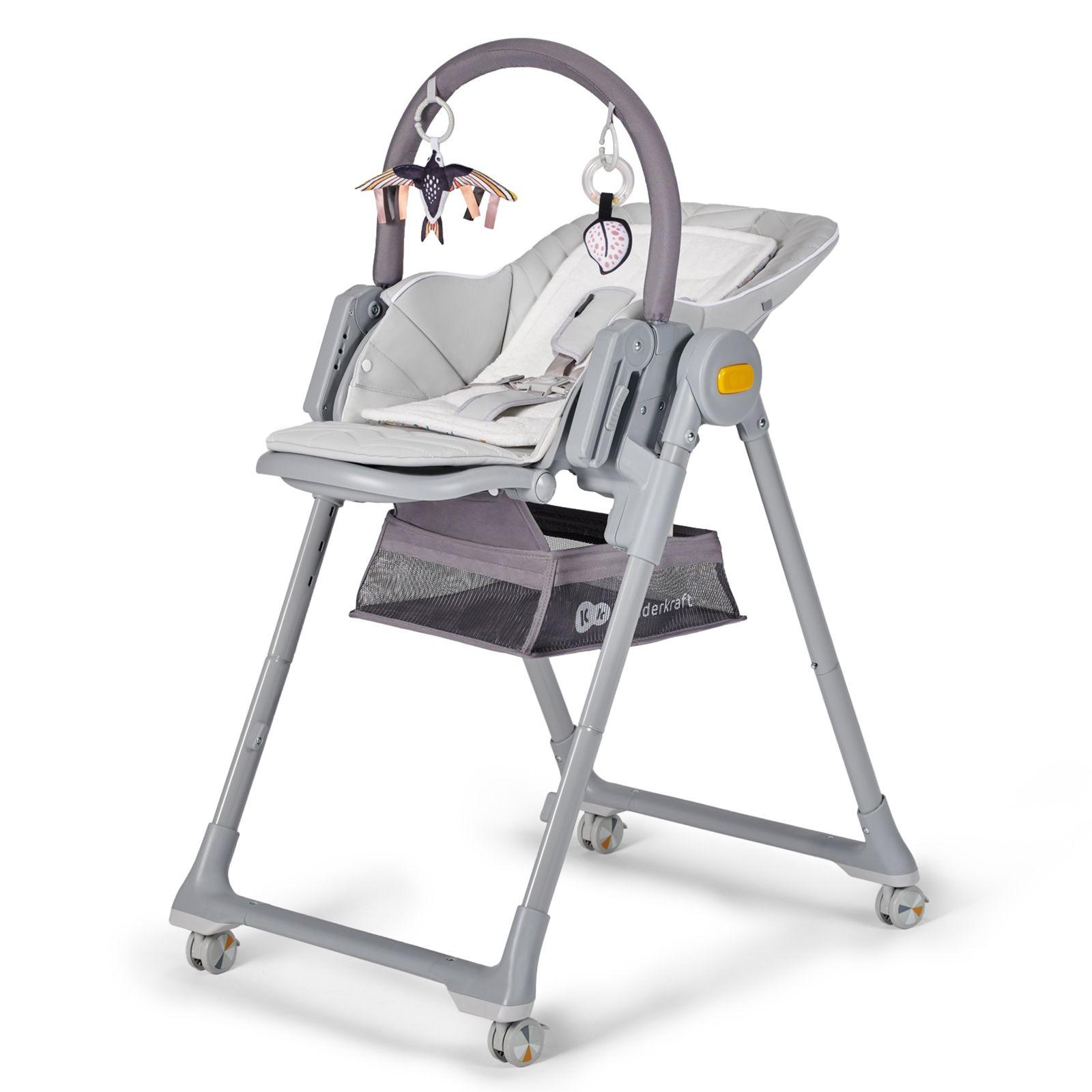 Wielofunkcyjny leżaczek i krzesełko LASTREE - dla niemowląt i starszych dzieci