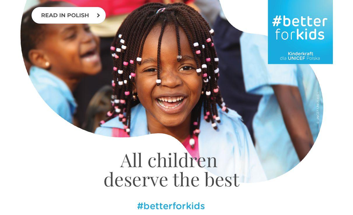 Kinderkraft x Unicef
