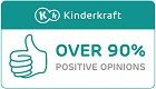 Over 90% positive opinions